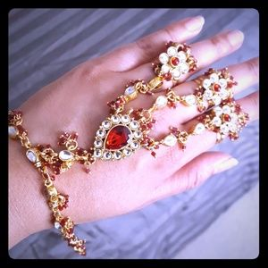 Jewelry - Indian Desi Bridal Haath Phool Hand Bracelets (2)